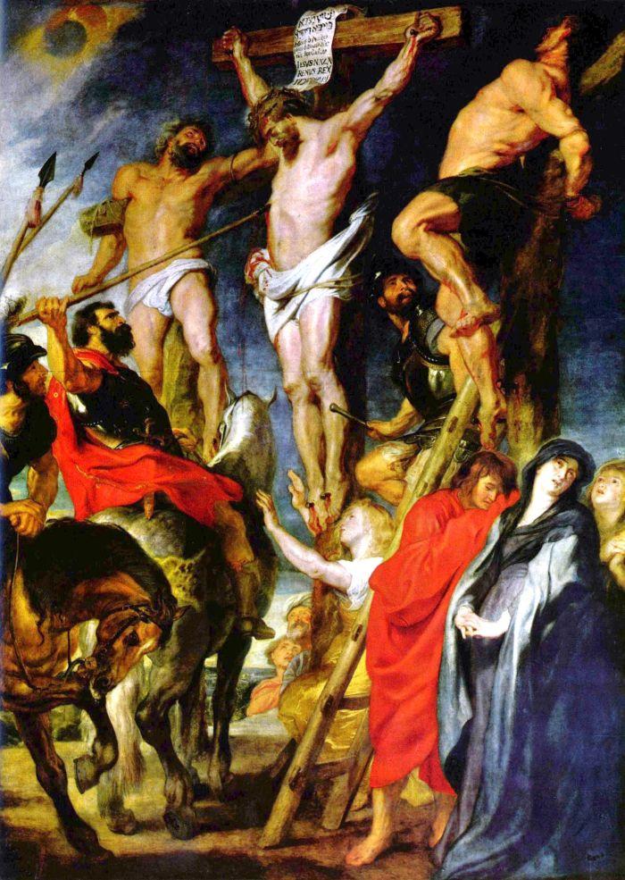 Figure 1 - Christ on the Cross - P Rubens