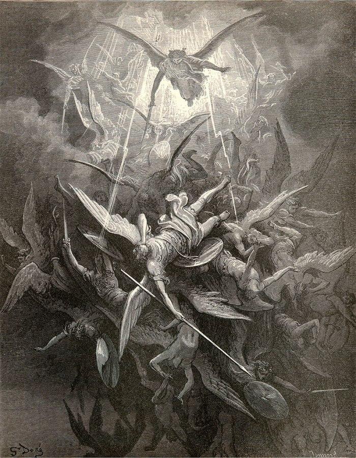 Figure 2 - Paradise Lost - J Milton, G Dore