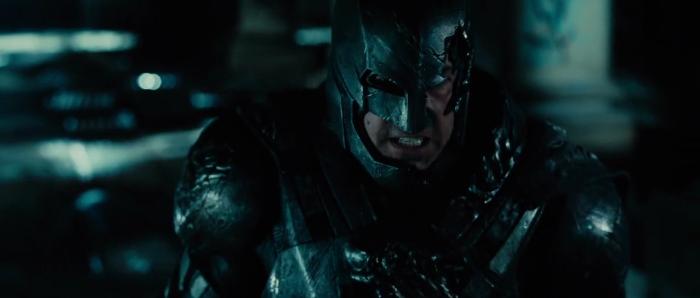Figure 5 - Batman drags Superman - Z Snyder