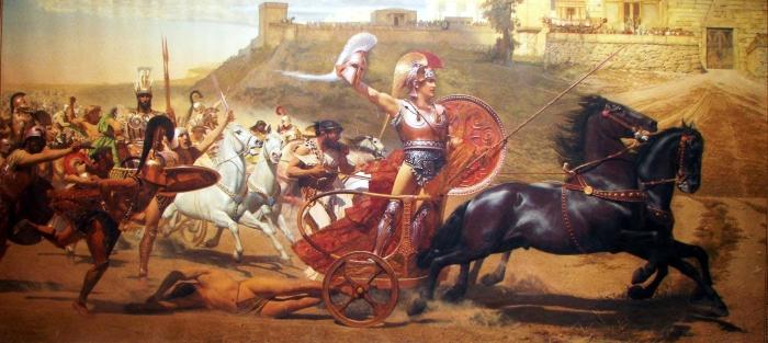 Figure 6- The Triumph of Achilles - F Matsch